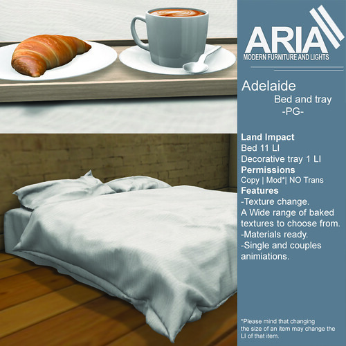 Adelaide bed pg @TMD