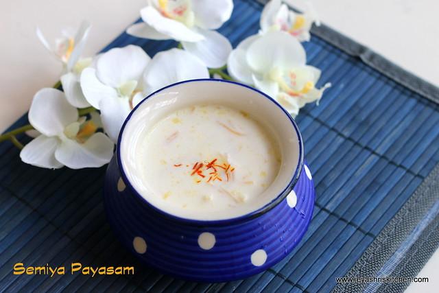 Microwave semiya-payasam