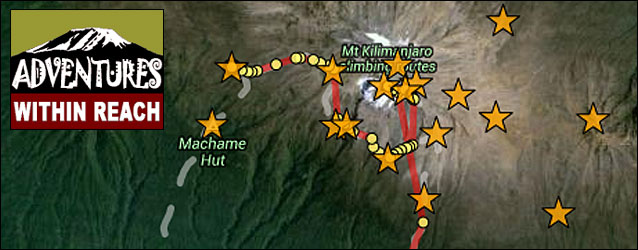 Kissing Kilimanjaro Leaving It All on Top of Africa