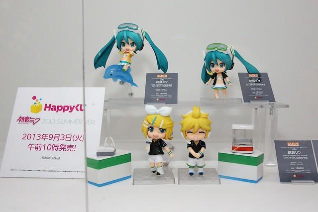 Nendoroid Hatsune Miku, Kagamine Rin, Kagamine Len: Family Mart 2013 version