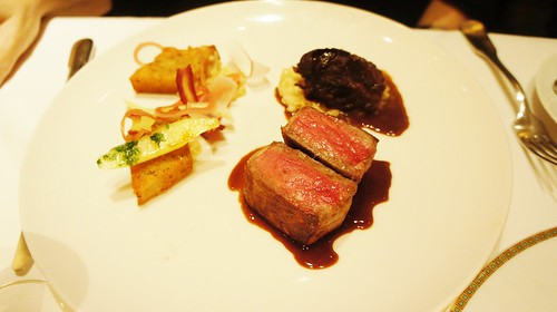 Dry-Aged Prime Sirloin of Beef and Braised Beef Cheek Duo
