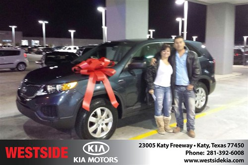 Westside KIA Houston Texas Customer Reviews and Testimonials-Maria Duque by Westside KIA
