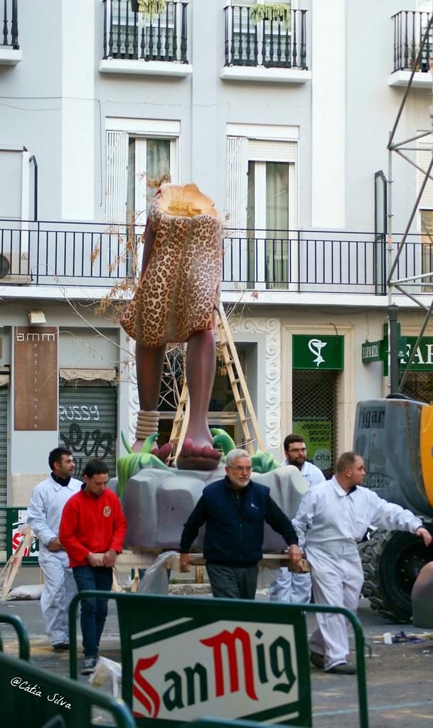 Falla Avenida Regne de Valencia - Duque de Calabria 2014 (1)