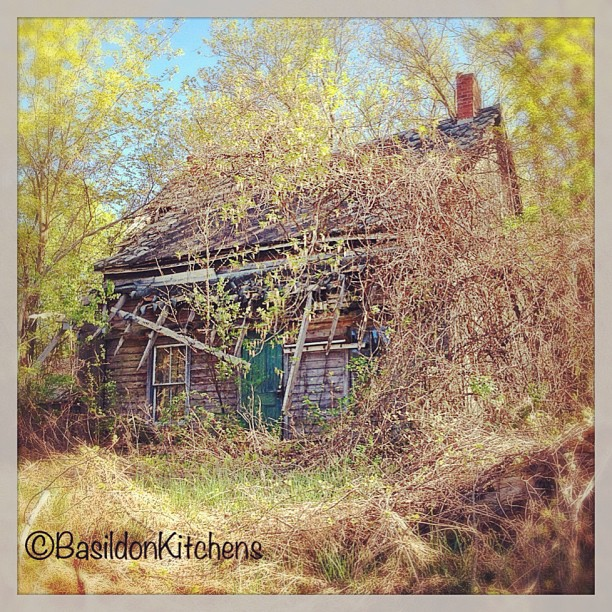 May 6 - broken {a sad, BROKEN house} #fmsphotoaday #decay #oldhouse #abandoned #princeedwardcounty