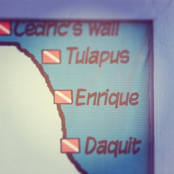 Dive Spot Enrique