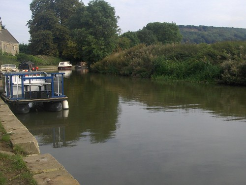 The Kennet and Avon canal at Bathampton by La belle dame sans souci