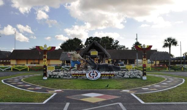 Miccosukee Indian Village in the Florida Everglades, Dec. 7, 2013