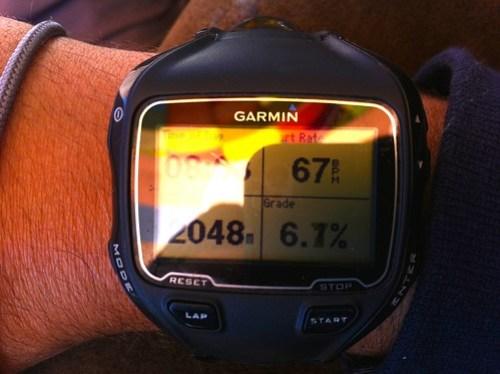 Maximum altitude reached!