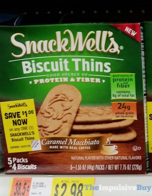 Snack Well's Caramel Macchiato Biscuit Thins