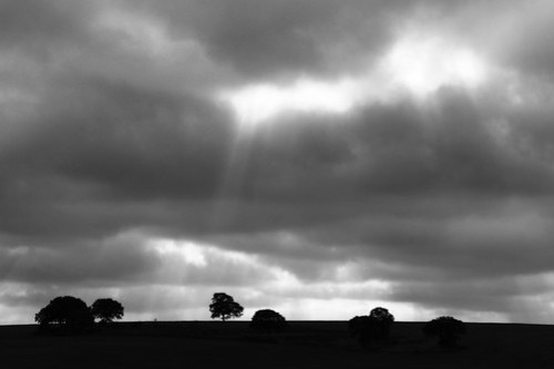 Moody skies over the Ridgeway