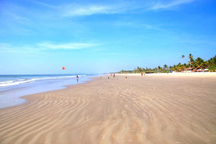 View of Colva Beach