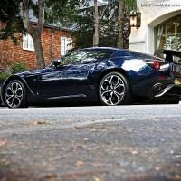 Aston Martin V12 Zagato spotted in Carmel, CA