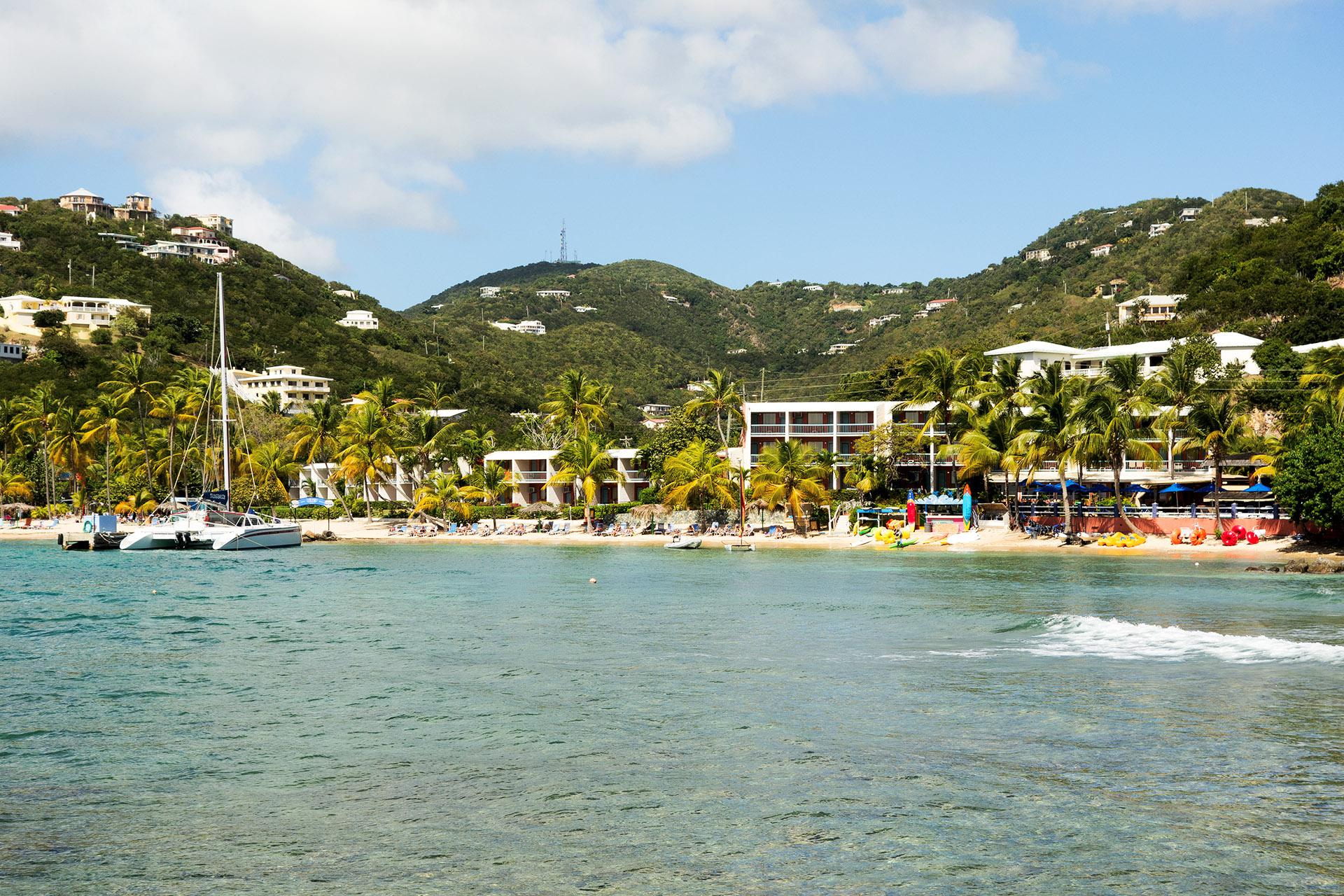 Bolongo Bay Beach Resort, St Thomas.