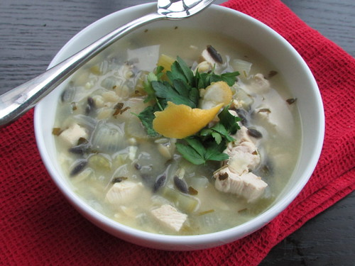 orzo chicken soup on twothirtyate.com