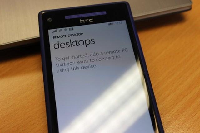 Remote Desktop on Windows Phone 8.1