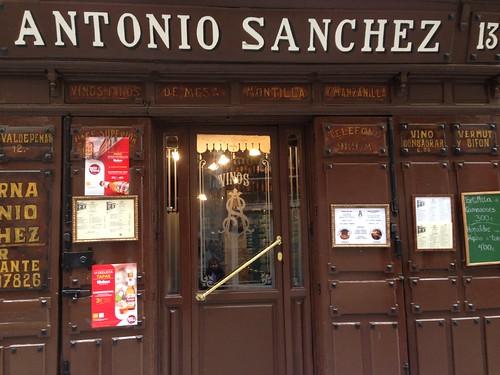 Taberna Antonio Sánchez, Lavapiés. Madrid
