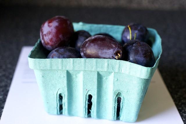 plums, found, icebox, etc.