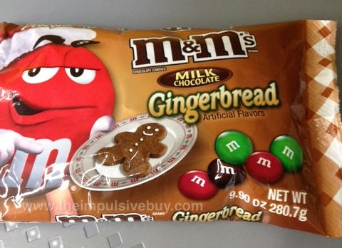 M&M's Gingerbread