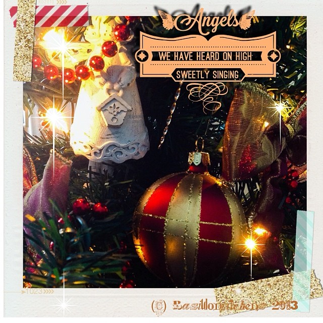 Dec 15 - lights {on the tree} #fmsphotoaday #lights #angel #ornament #tree #christmas #holidays #rhonnadesigns