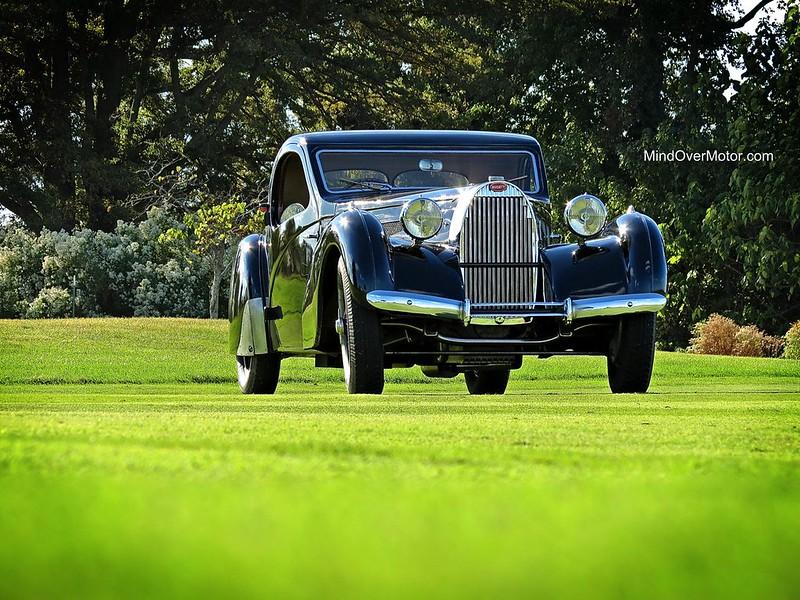1937 Bugatti Type 57 Atlante Coupe at St. Michaels