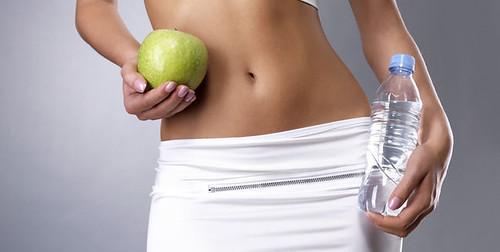 El agua en la pérdida de peso