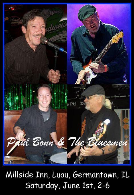 Paul Bonn & The Bluesmen 6-1-13