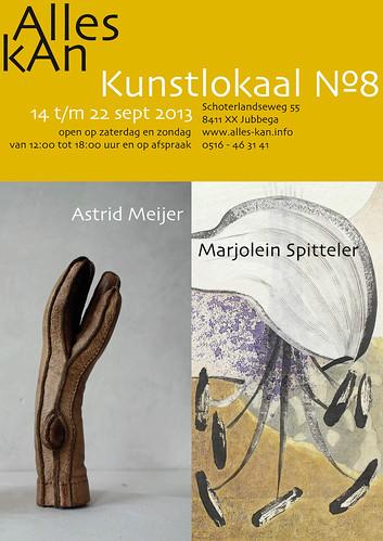 Astrid Meijer | Marjolein Spitteler by AlleskAn | Kunstlokaal №8