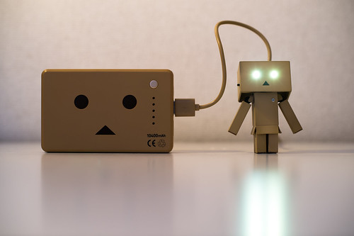 Recharging Danbo Power