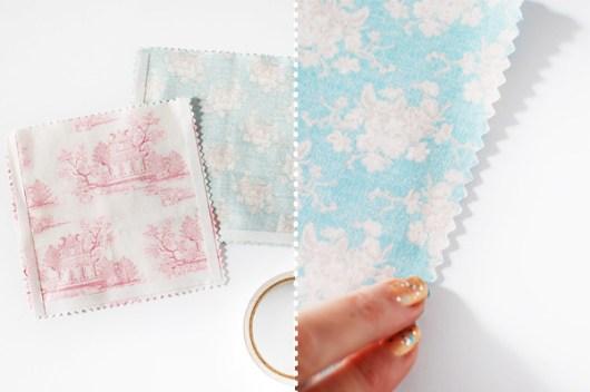 DIY: Sacos de presente de tecido