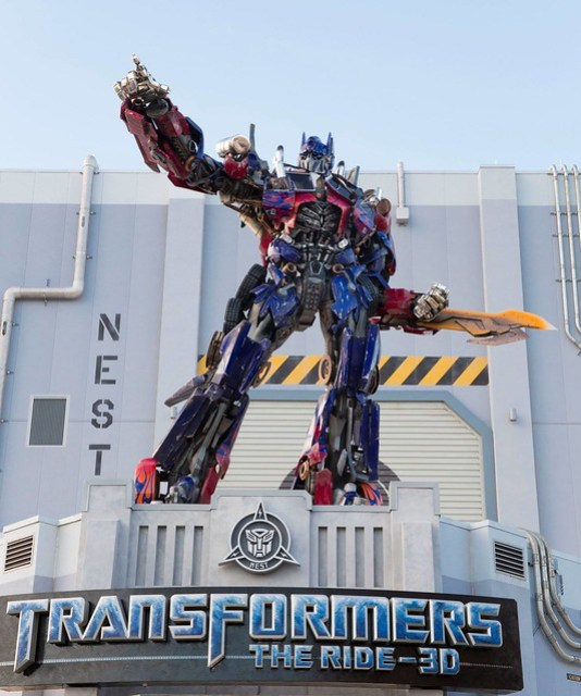 Transformers: The Ride 3D at Universal Orlando