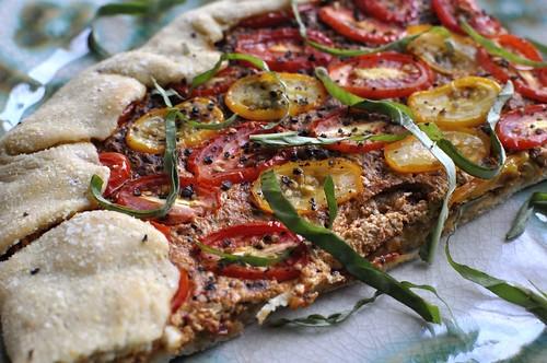 Tomato Pizza 'Tart'