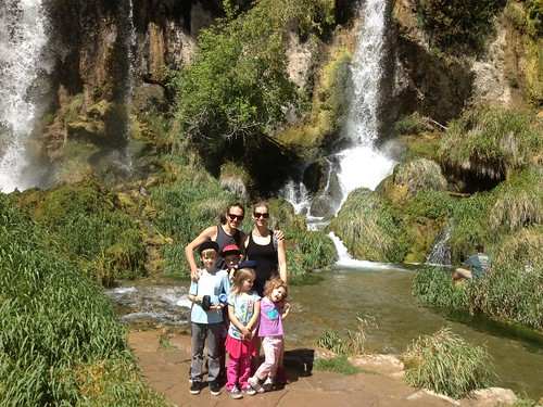 Family at Rifle Falls