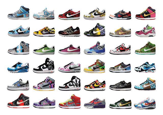 Custom Sneaker Print
