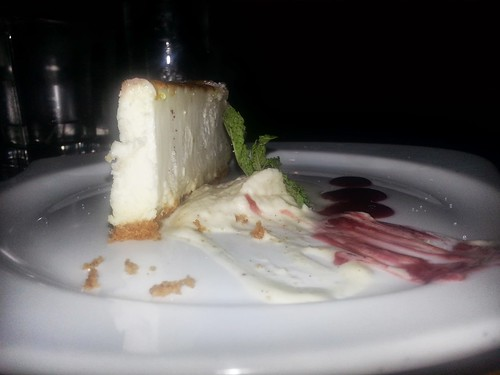 Cheesecake at Bin 77