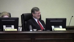 County Attorney Walter Elliott gets the joke