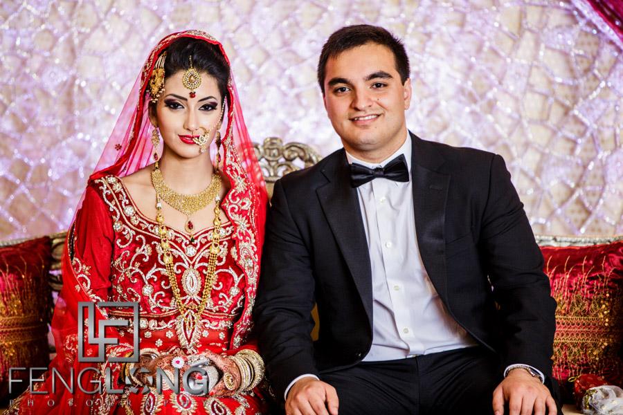 Bengali bride and Pakistani groom