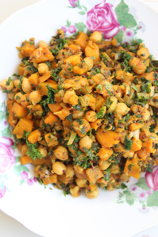 pumpkin & chickpea filling