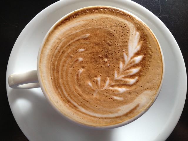 Nonfat latte - Cafe Besalu