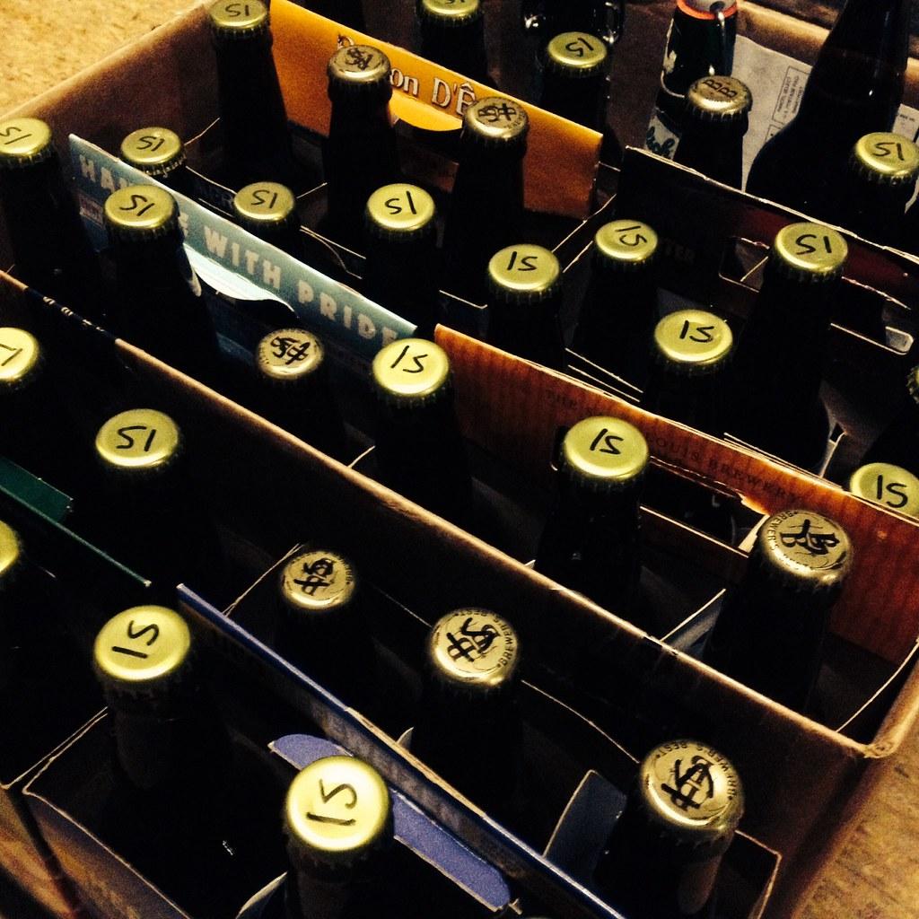 bottle conditioning Irish Stout