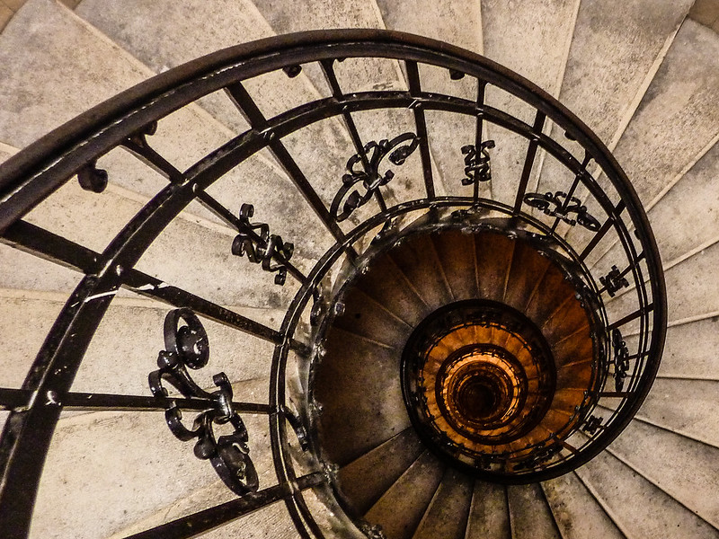 Staircase, St. Stephen's Basilica, Budapest