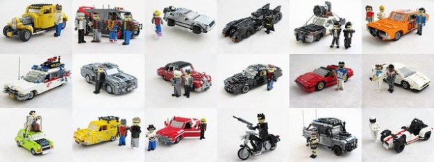 Movie and TV vehicle collection