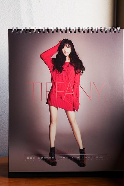 SNSD 2014 Calendar: Tiffany