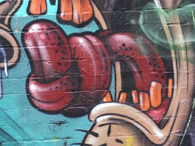 3dom street art in Cardiff