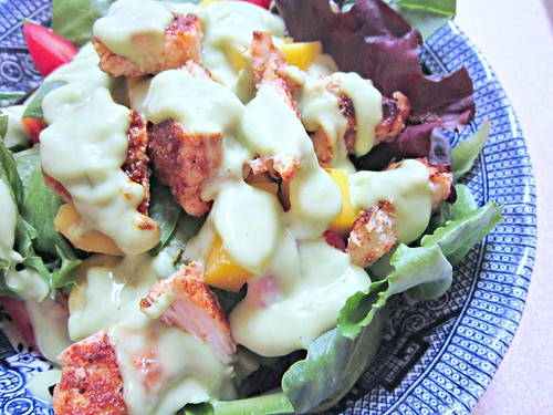 Blackened Chicken & Mango Salad