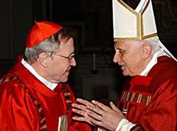 Benedikt XVI. mit Kardinal Kasper