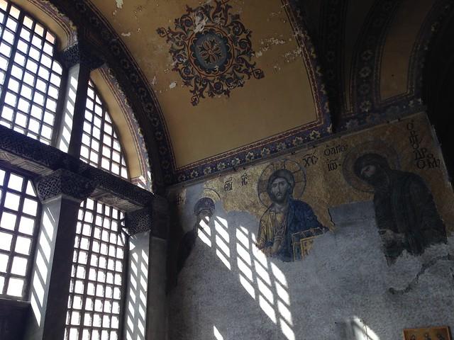Mosaics and shadows