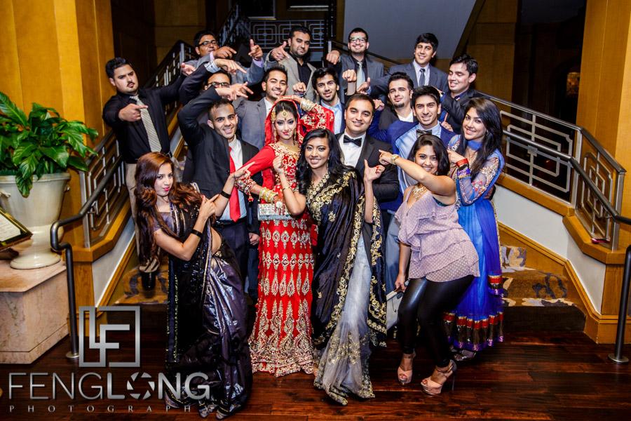 Group photos with friends at the Ritz-Carlton Buckhead Atlanta