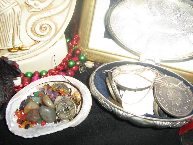 Hekate Shrine - offerings for Hekate and Hermes