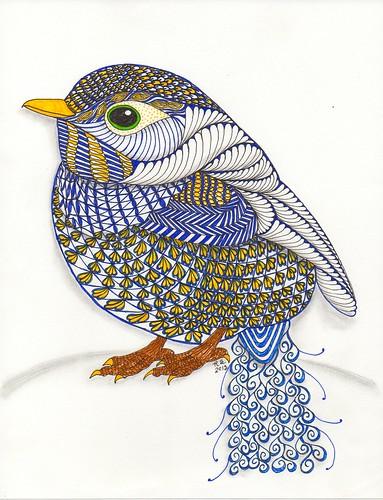 Ornation Creation-Bluebird -Ben Kwok by ronniesz