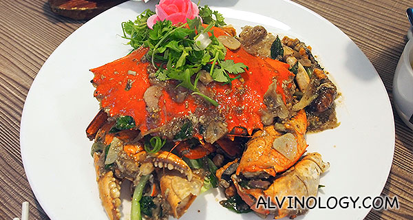 白胡椒螃蟹 White Pepper Crab (Seasonal Price)